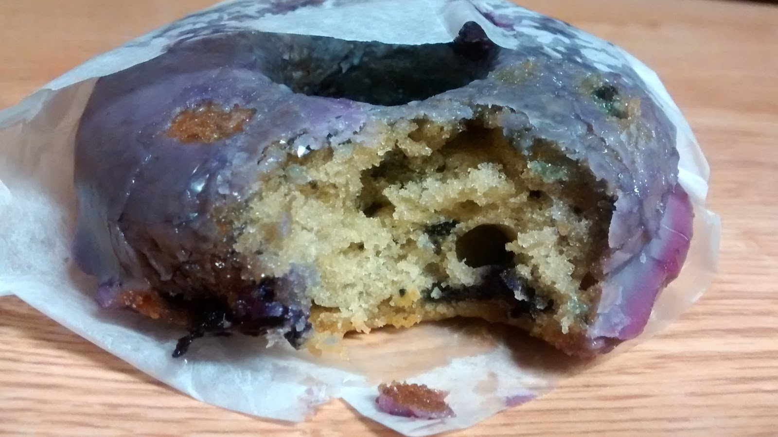 fonuts blueberry earl grey donut