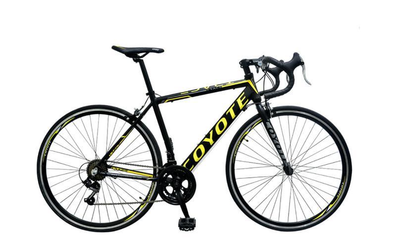 จักรยานเสือหมอบ Coyote Trace 700C 14 สปีด เฟรมอลู - ครบเครื่อง  เรื่องจักรยาน อะไหล่จักรยาน ราคาถูก : Inspired by LnwShop.com