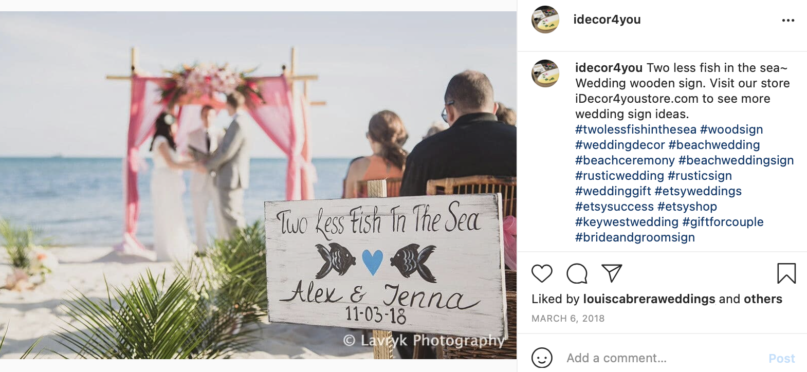 wedding hashtags to sign