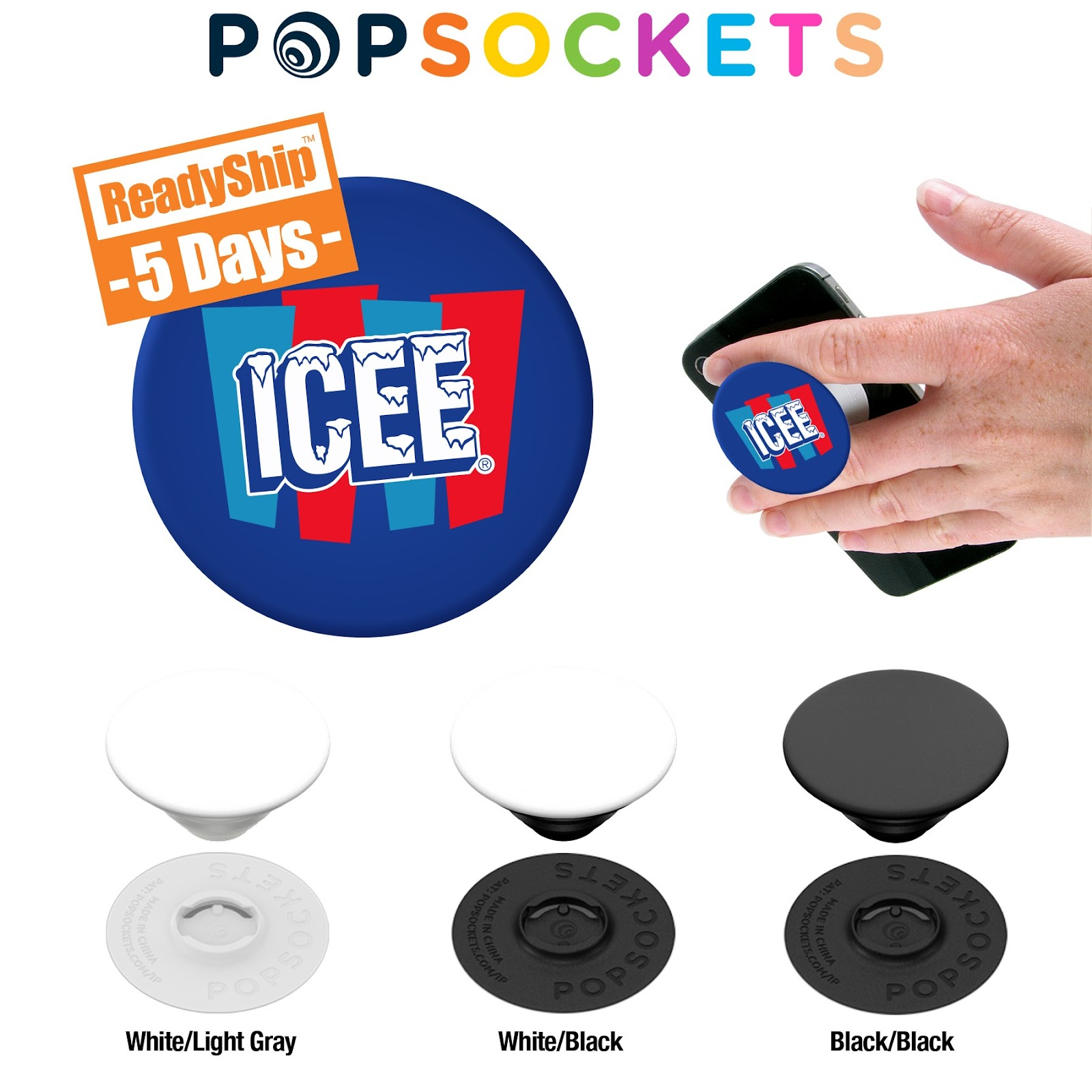 Swappable PopSockets Grip