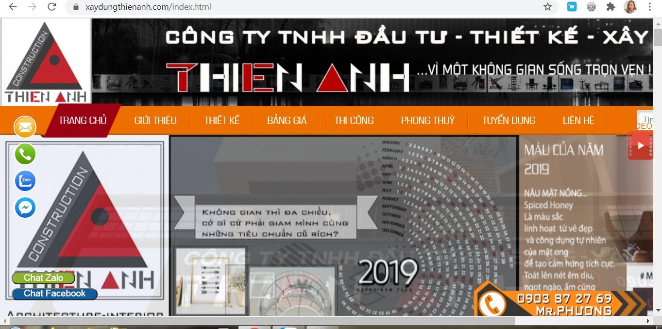 Công ty TNHH Đầu tư thiết kế xây dựng Thiên Anh chính là địa chỉ uy tín, nhận được sự đánh giá cao của khách hàng và là nơi tạo nên những công trình hoàn hảo nhất