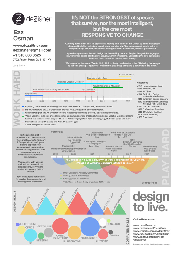 Who Should Create An Infographic Resume