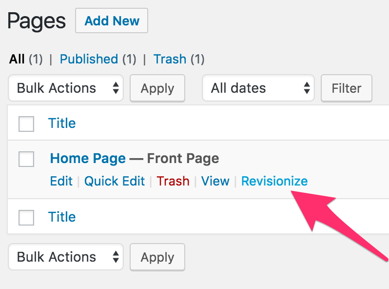 How to Edit Live WordPress Content using Revisionize