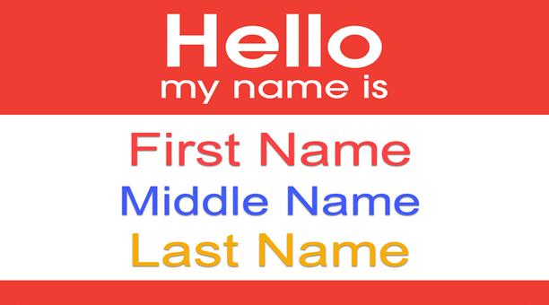 Cùng tìm hiểu cách điền, định nghĩa first name là gì trong tiếng anh