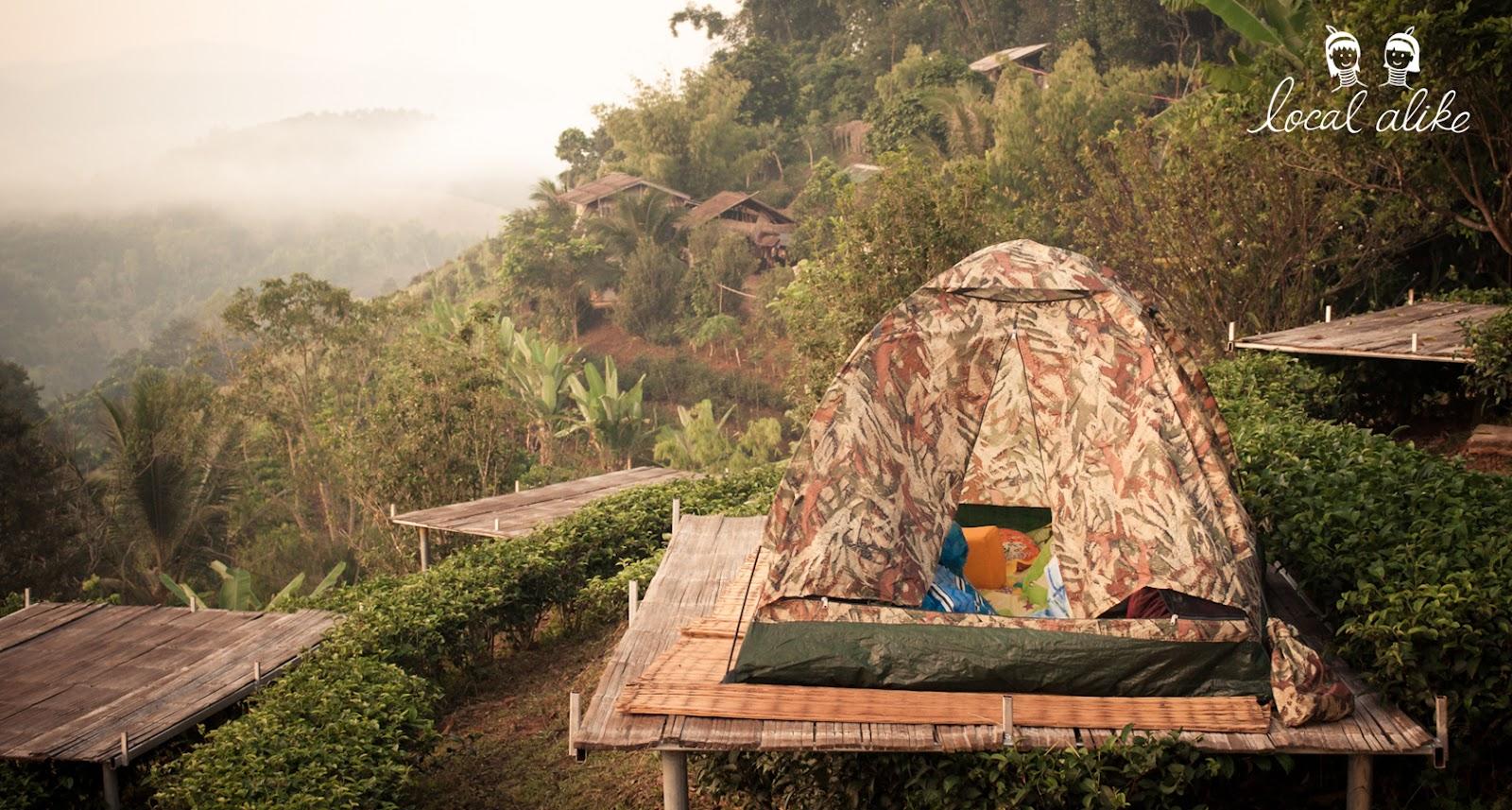 Tent platform_Thailand