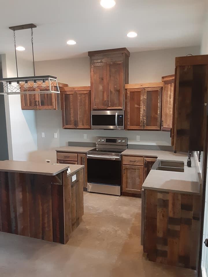 Barndominium in Georgia kitchen