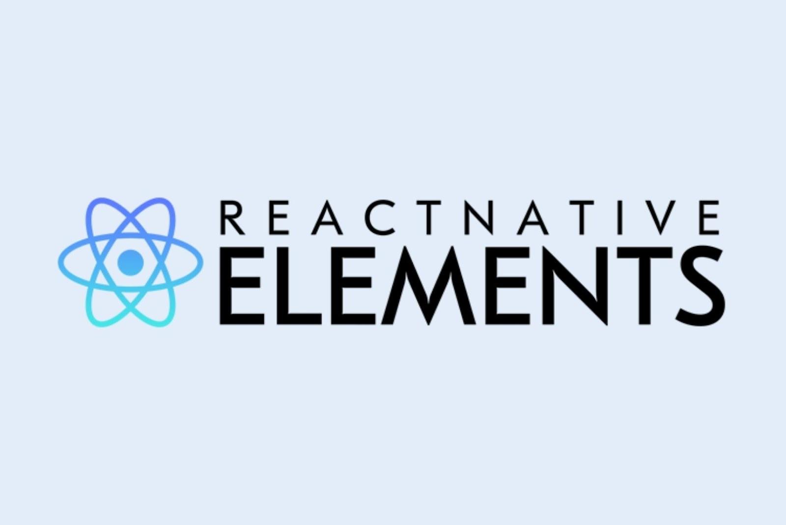 React Native Elements React Native UI Libraries