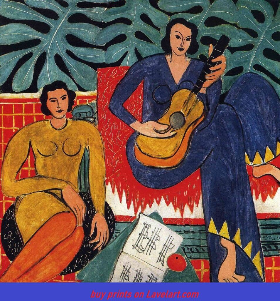 The music painting by henry Matisse
