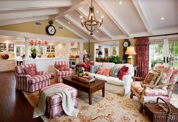 Tất cả không gian phòng khách từ vật dụng tới màu sắc đều đậm chất vintage