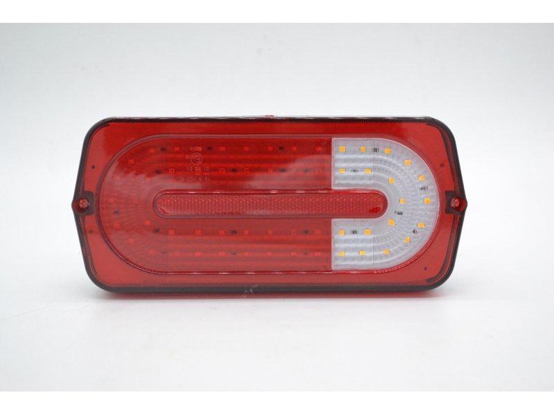 Задний светодиодный Фонарь на УАЗ 469, буханка в стиле Гелендваген, плата светодиодная вместо обычных лампочек.