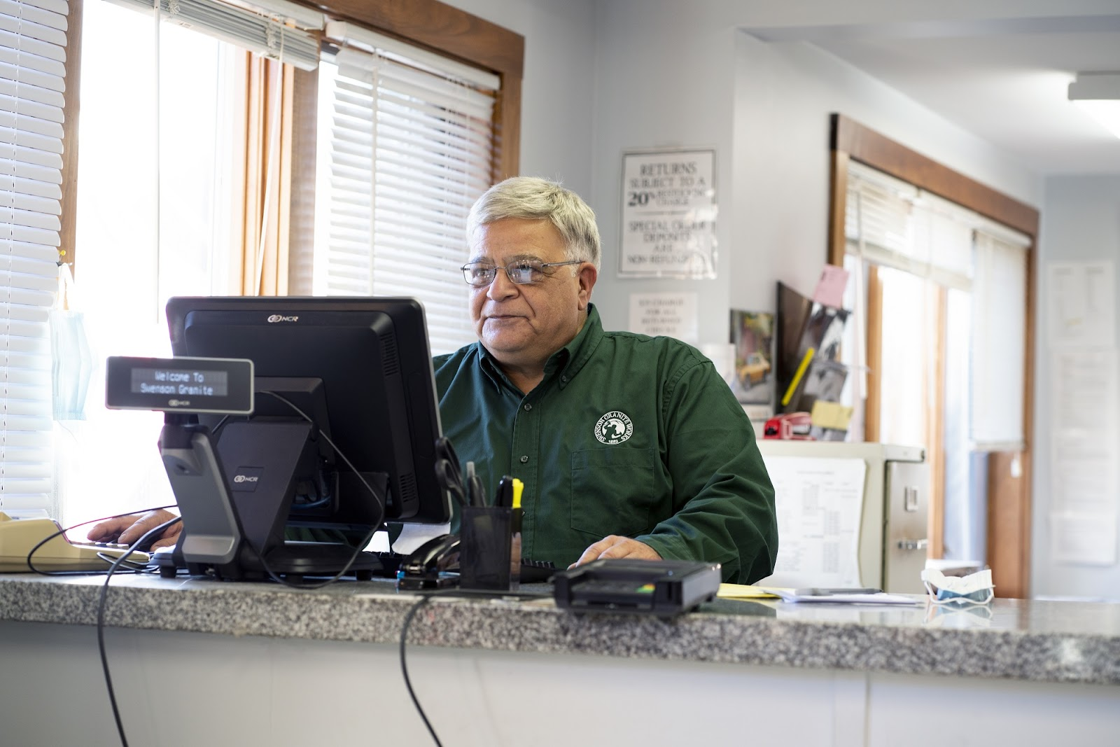 Bill Haddad, Swenson Granite Works Medway Store Manager