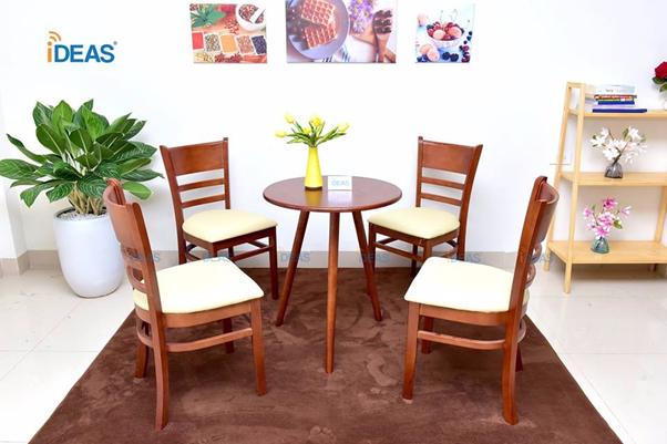 Bộ bàn ghế nhà hàng, cafe sang trọng và độc đáo