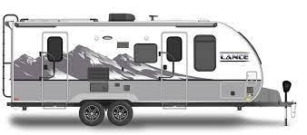 Best Travel Trailers with Bunkhouses: Lance Camper