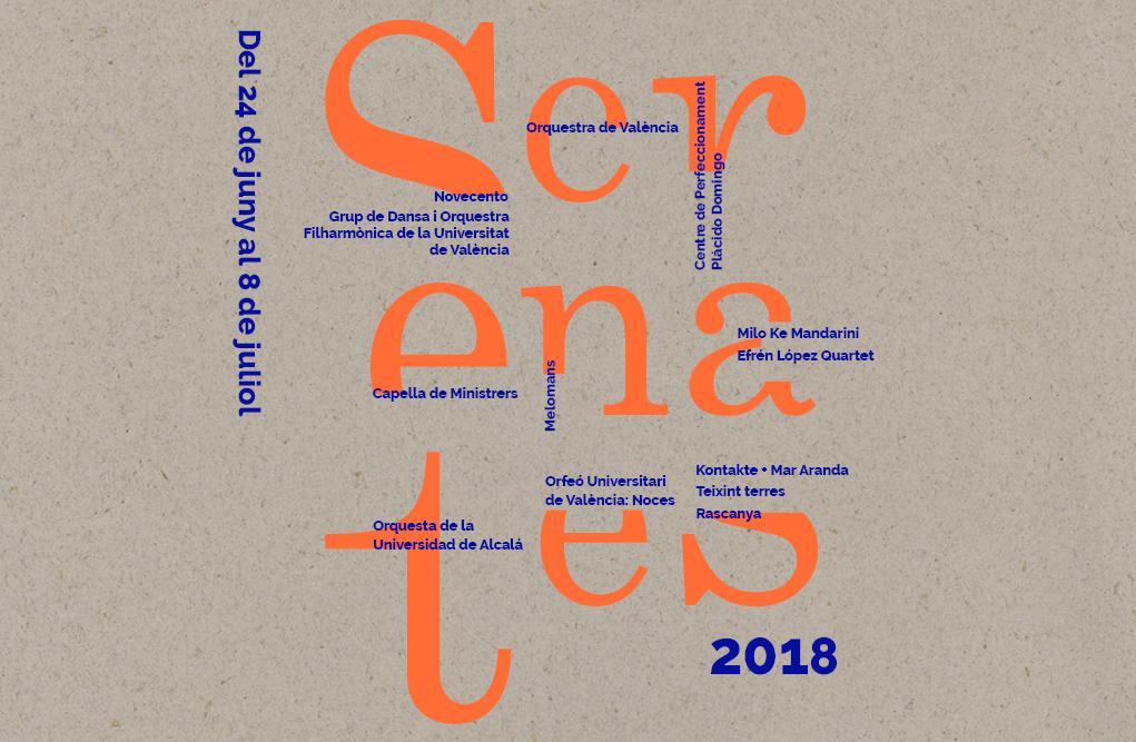 Image result for uv programa serenates 2018
