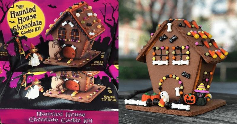 "Image result for trader joe's halloween gingerbread house 2019"""