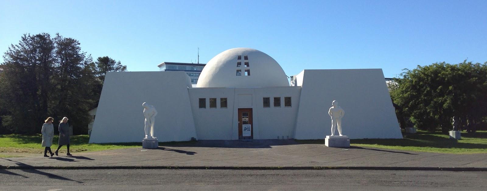 Asmundarsafn museum in Laugardalur, Reykjavik.