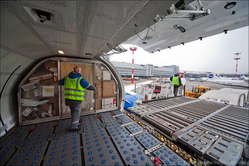 Грузовые авиаперевозки. B737F main deck