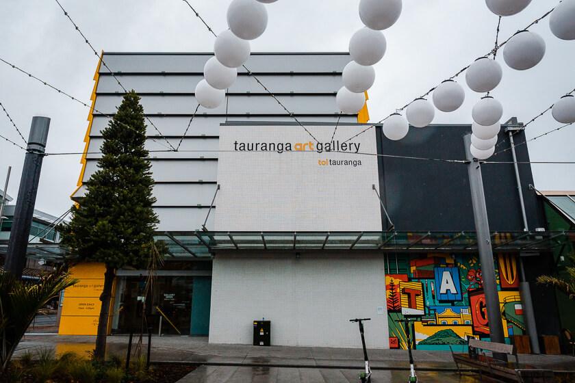 Tauranga Art Gallery.