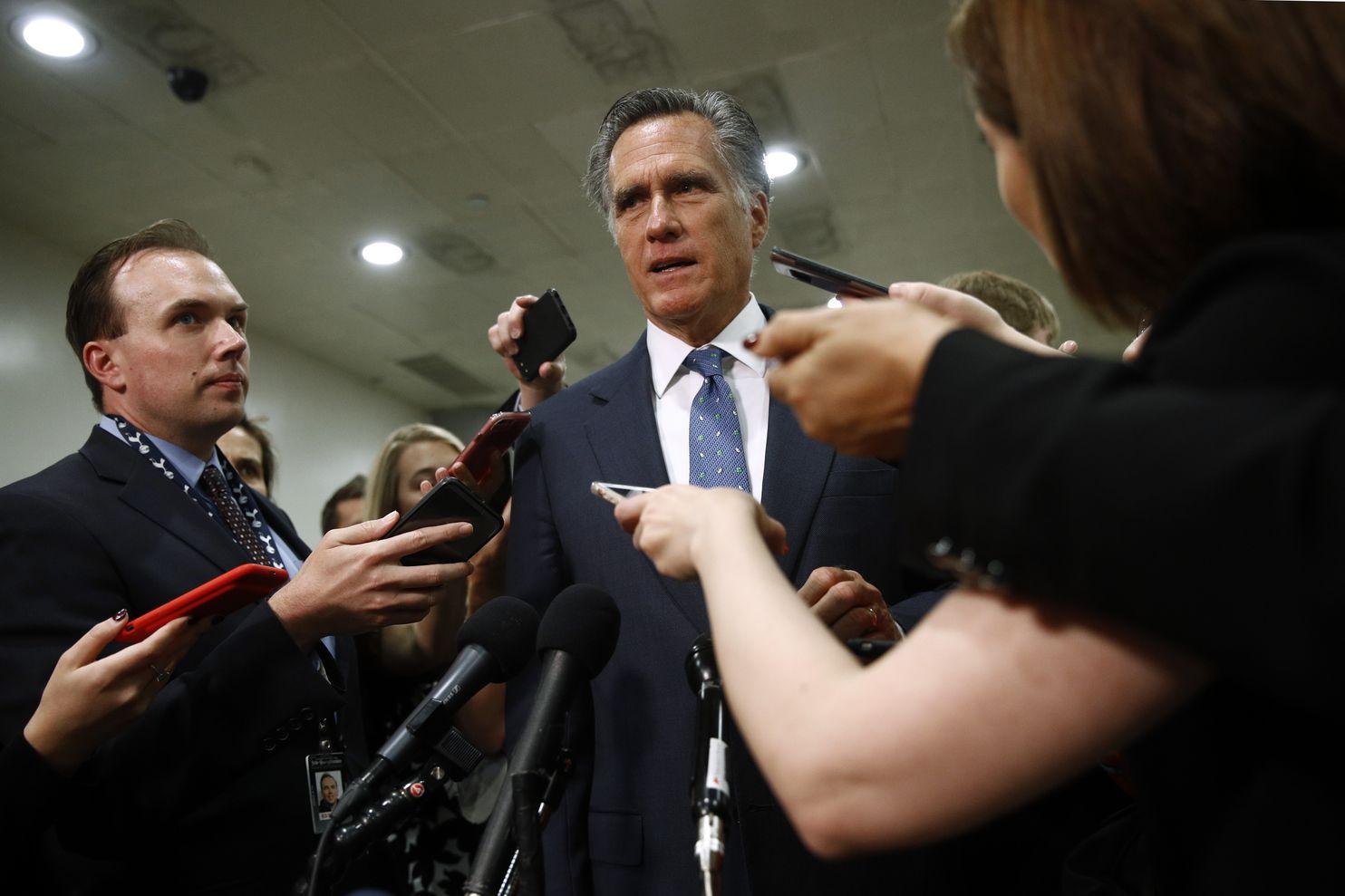 Image result for Mitt Romney impeachment