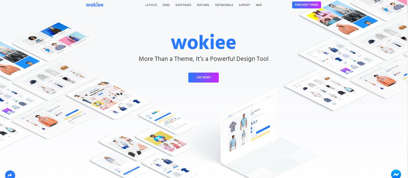 Wokiee - Shopify bootstrap theme