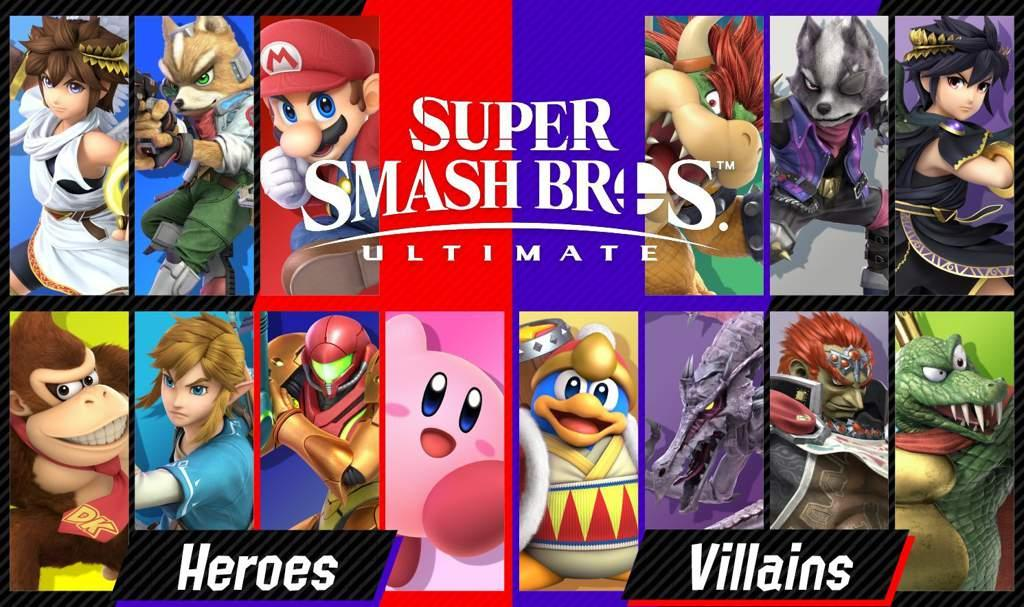 "Image result for Nintendo announces ""Heroes Vs Villains"""