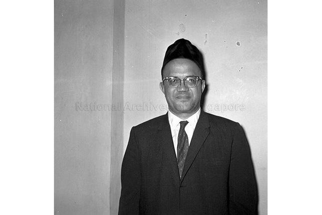 Pioneer of Singapore Ahmad Ibrahim and Contributions