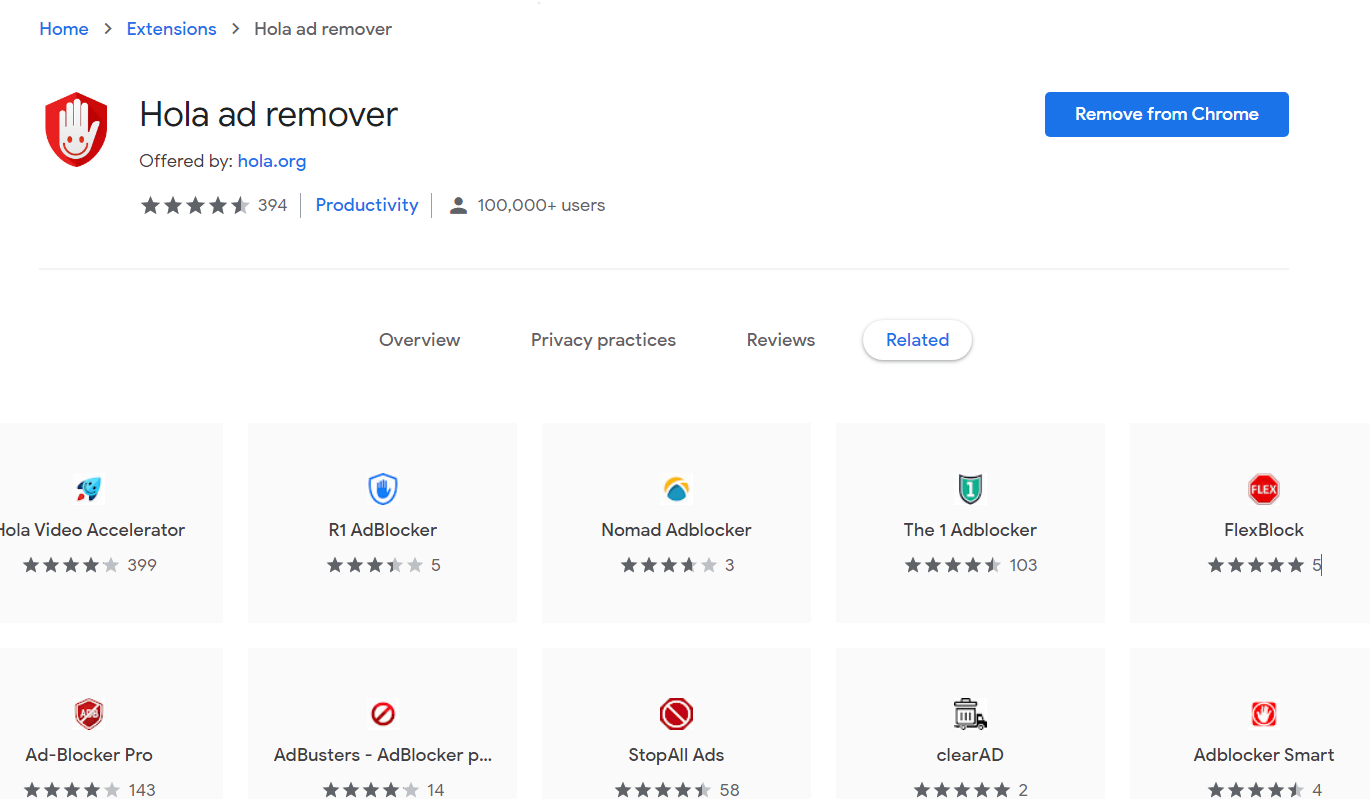 Hola Ad Remover Chrome Store - Best Free Ad Blocker Software