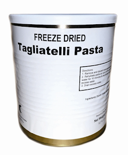 Freeze Dried Tagliatelli Pasta
