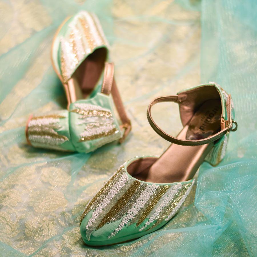 Designer Sangeet Shoes for Women