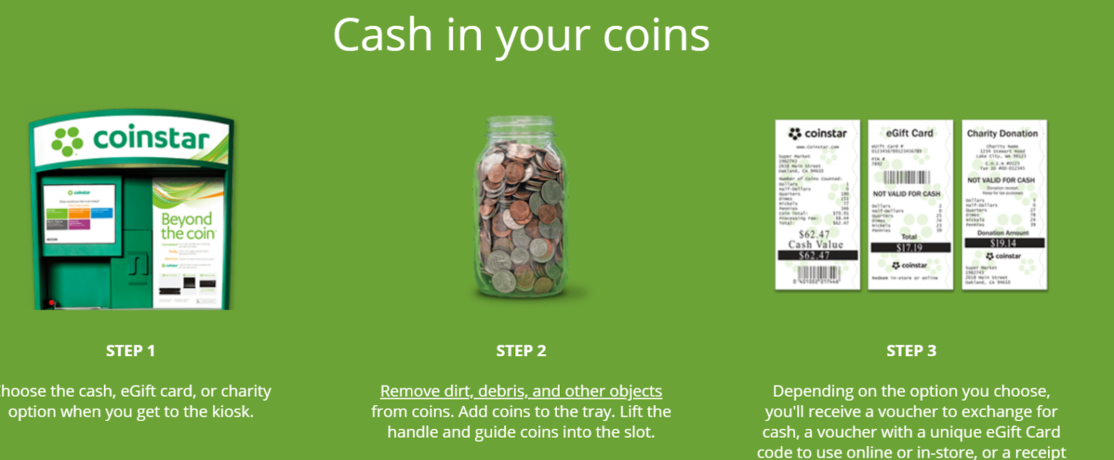 how to find a coinstar near me