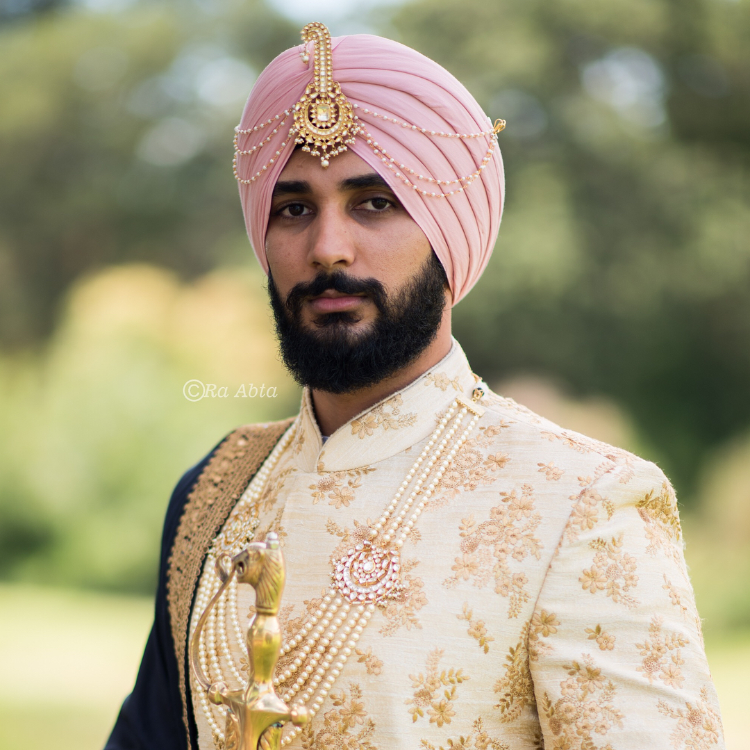 sikh wedding turban