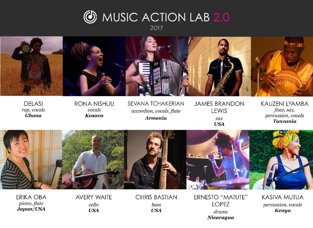 Music Action Lab 2.0 musicians