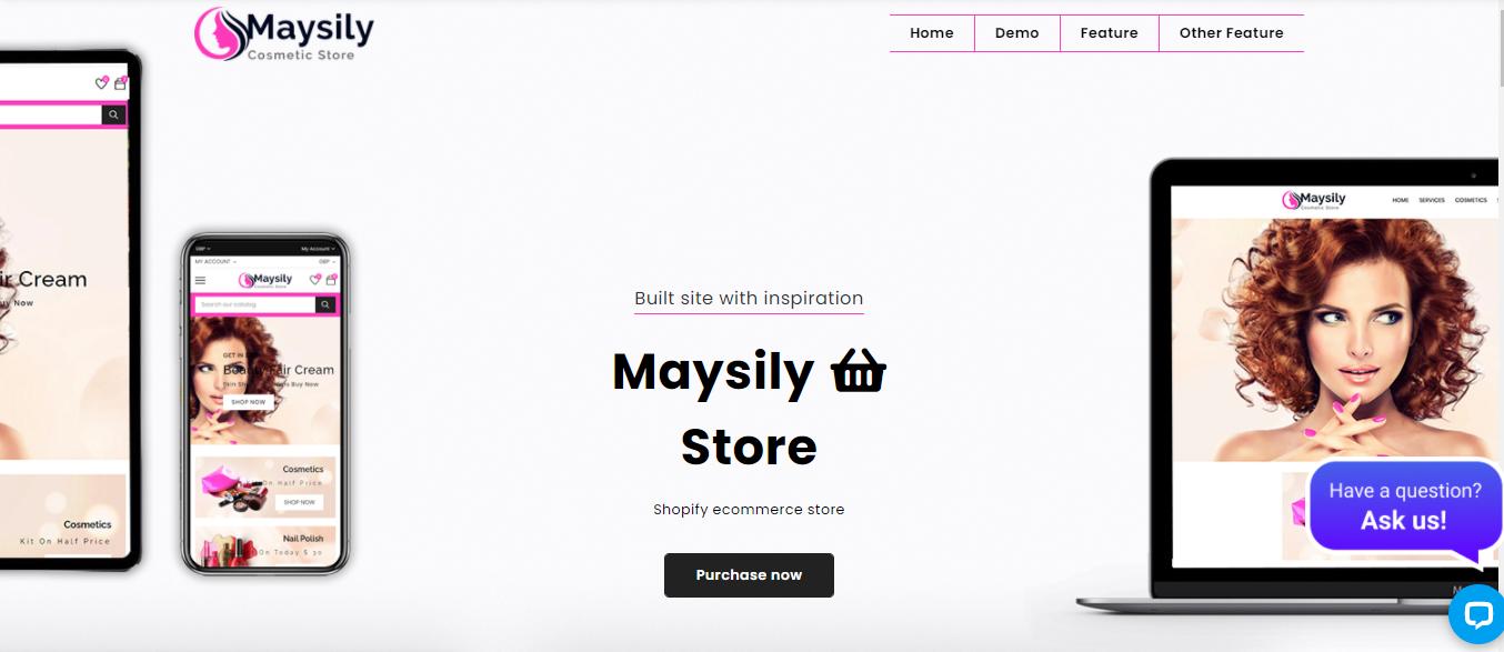 Maysily - Spa shopify theme