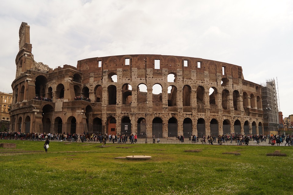 Rome, Colosseum, Roman Holiday