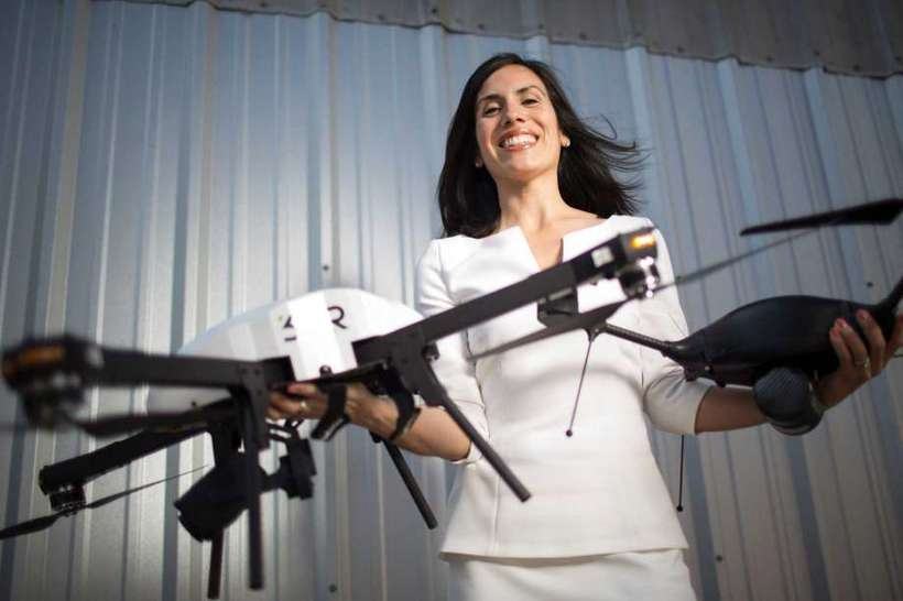 Dyan Gibbens, CEO &amp; Founder, Trumbull Unmanned. A <em>Forbes</em> Top 25 Veteran Founded Company, flies drones to provide