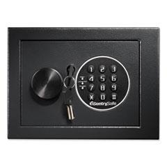 Sentry Safe H060ES: Electronic Security Safe, 0.14 Cu Ft, 9W X 6.6D X 6.6H, Black