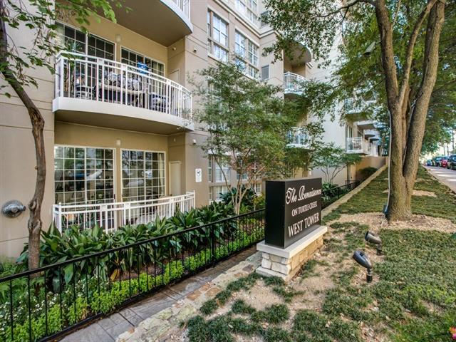 Outdoor balconies are the pinnacle of upscale Dallas condo living.
