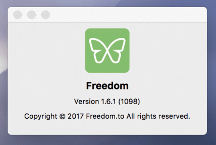 Make sure Freedom is updated