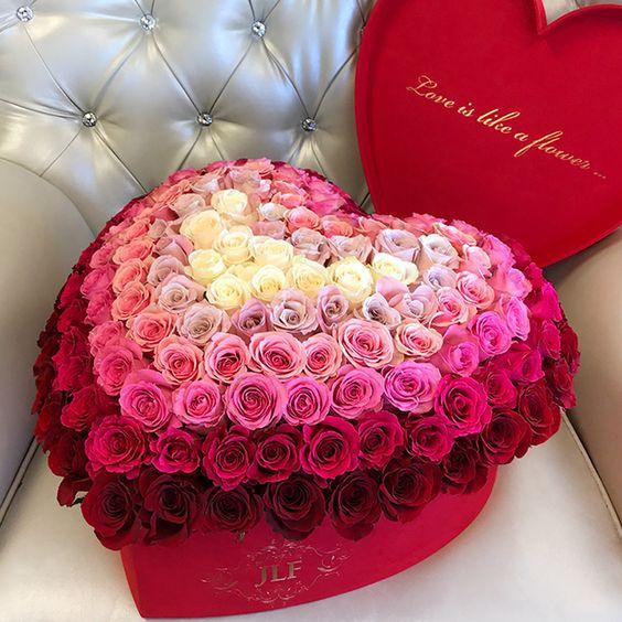 Оригинальный подарок для души – коробка с розами