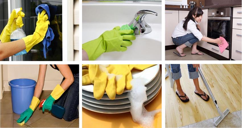 Quy trình làm việc của dịch vụ dọn dẹp, vệ sinh nhà ở tại Bình Dương uy tín