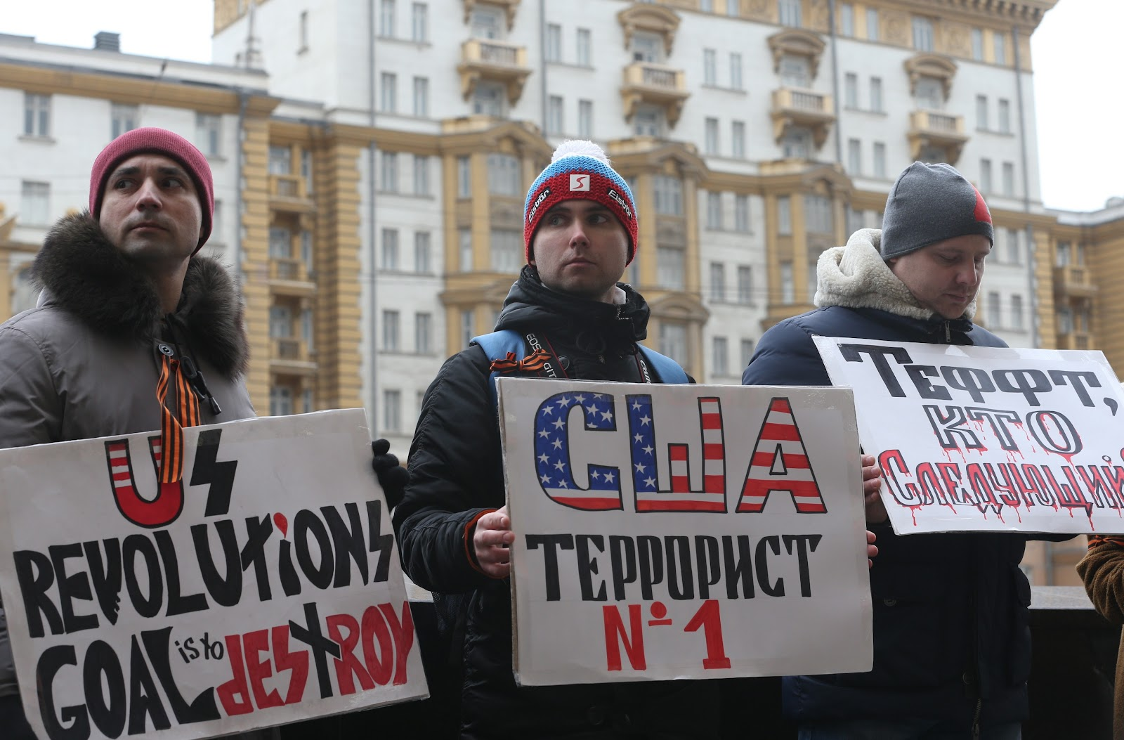 From harmless jokes about USA and Americans, the official media transitioned to hatred and positioned the country in the public's eye as Russia's #1 enemy. Photo: intersectionproject.eu