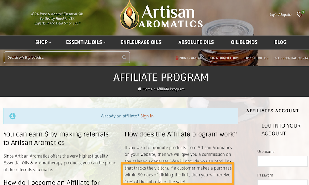 How To Make Money With Essential oils Affiliate Marketing
