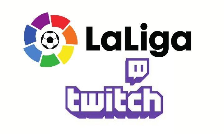 Inicio de colaboración entre Twitch y LaLiga