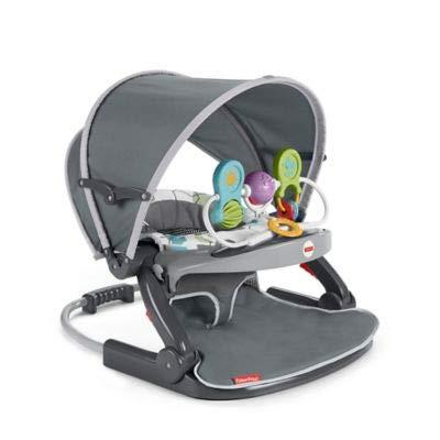 Sit-Me-up on-The-Go Floor Seat in Grey