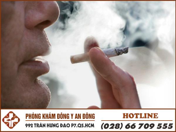 Sử dụng thuốc lá cũng là nguyên nhân gây rối loạn lo âu.