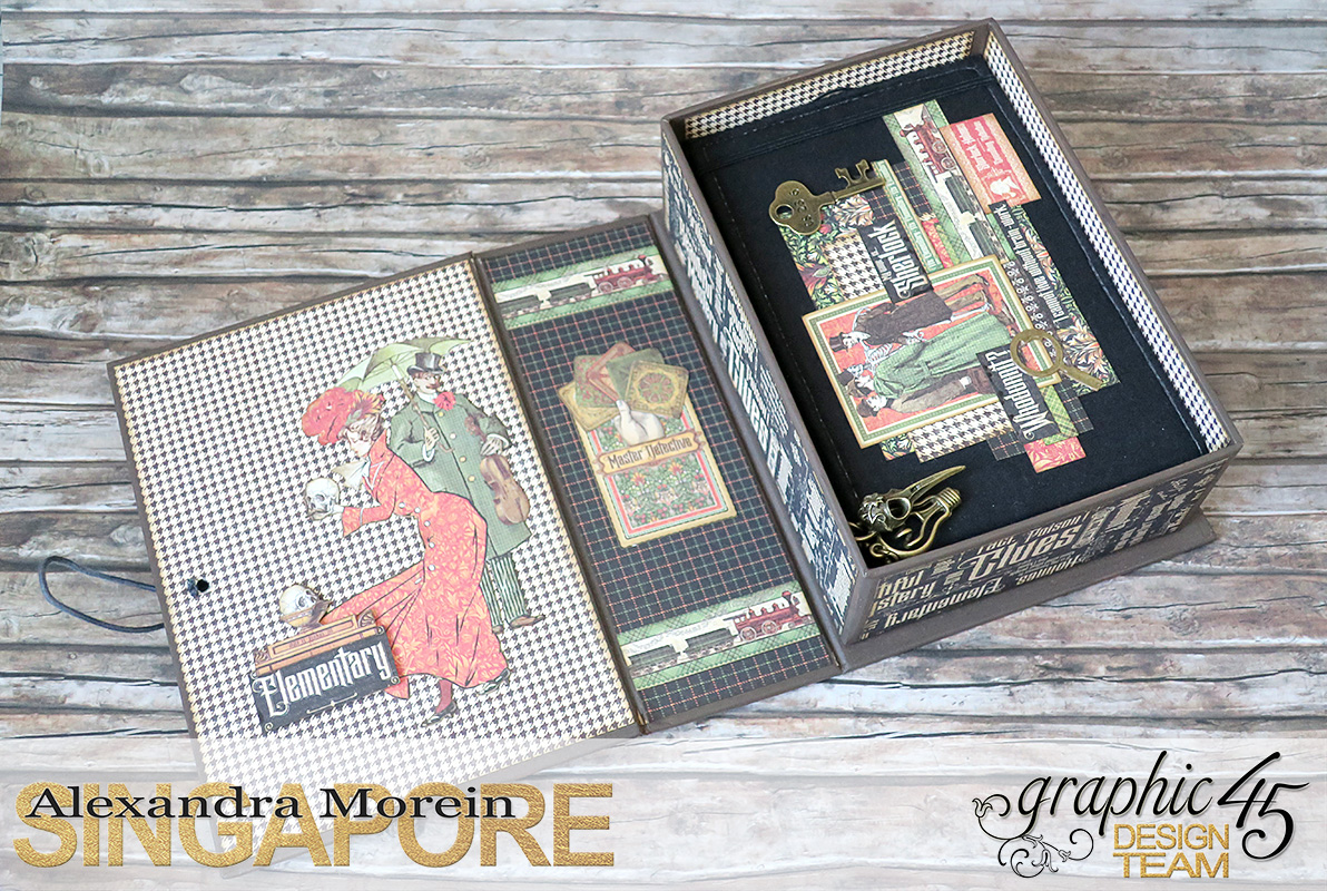 Master Detective Box and Albums, Project by Alexandra Morein, Product by Graphic 45, Photo 7.jpg