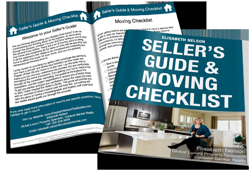 Boulder Area Moving Checklist