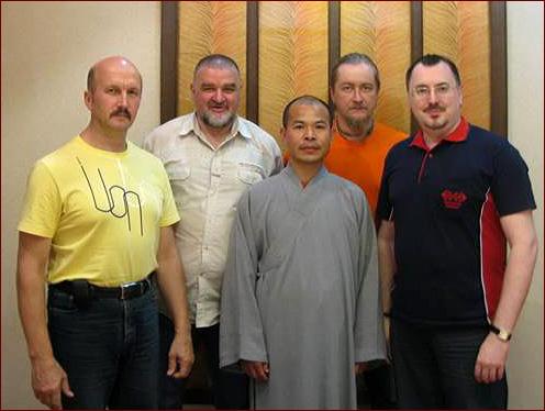 Ши Дэян с официальной делегацией ФШБИ