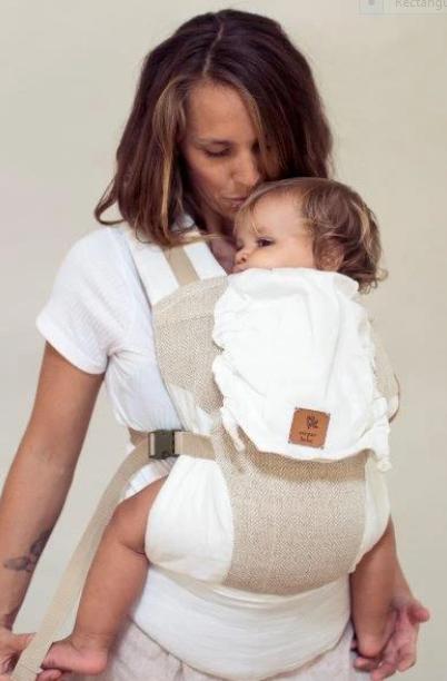 Zarpar Bebe Bohemian Sands Snap Baby Carrier