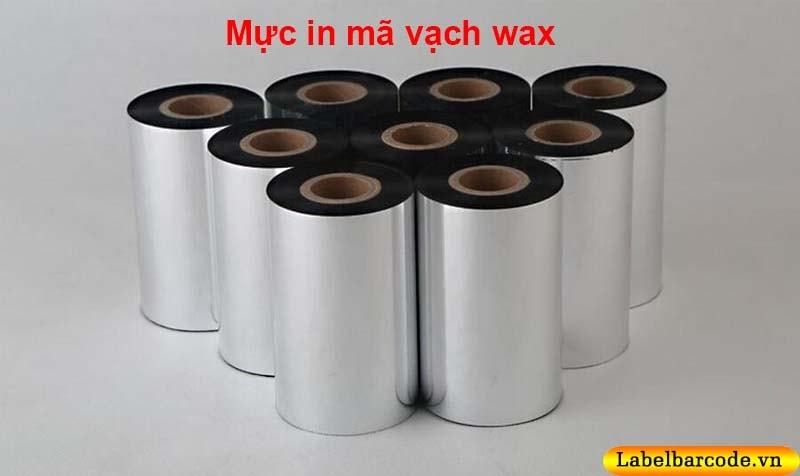 Mực in mã vạch wax premium 110mmx300m tại An Thành